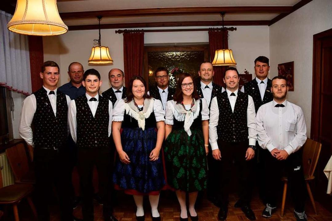 Der Vorstand des Musikvereins Ottoschw...: Hansjörg Bührer und Florian Ziebold.  | Foto: Musikverein