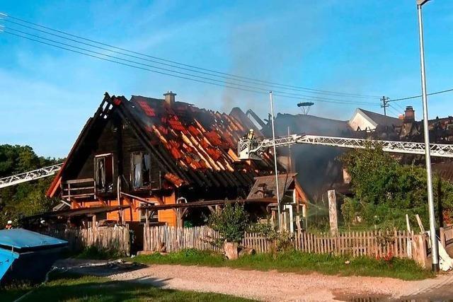 Stresstestwochenende für die Feuerwehr in Offenburg und Schutterwald