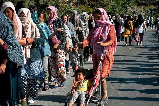 Bundesregierung will schnell über Aufnahme von Flüchtlingen aus Moria entscheiden