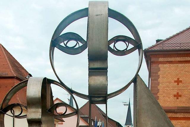 Künstler und Politiker streiten über Zukunft des Skulpturenwegs in Emmendingen