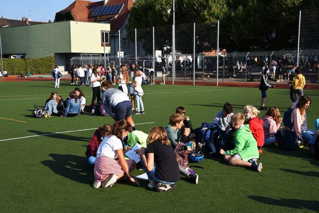 Pause in Lörrach  | Foto: Robert Bergmann
