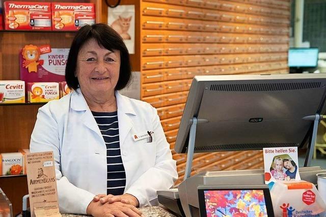Nach 62 Jahren endet in der Hebel-Apotheke in Müllheim eine Familientradition