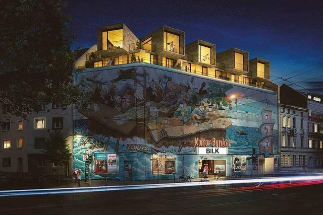 Weltkriegsbunker werden zur Luxuswohnung umgewandelt