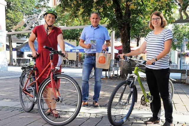 Bürgermeister wettet: Schaffen die Schopfheimer 40.000 Kilometer beim Stadtradeln?