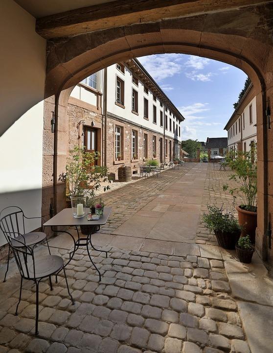 Das Entrée ins Anwesen des Palais  Wunderlich     Foto: Christoph Breithaupt