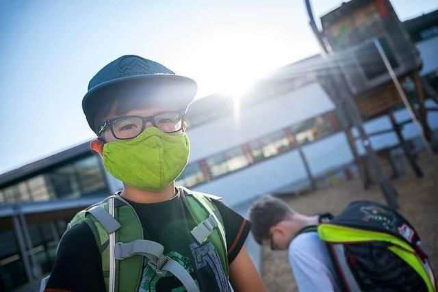 Im Südwesten kocht ein Streit um Masken in Schulen hoch