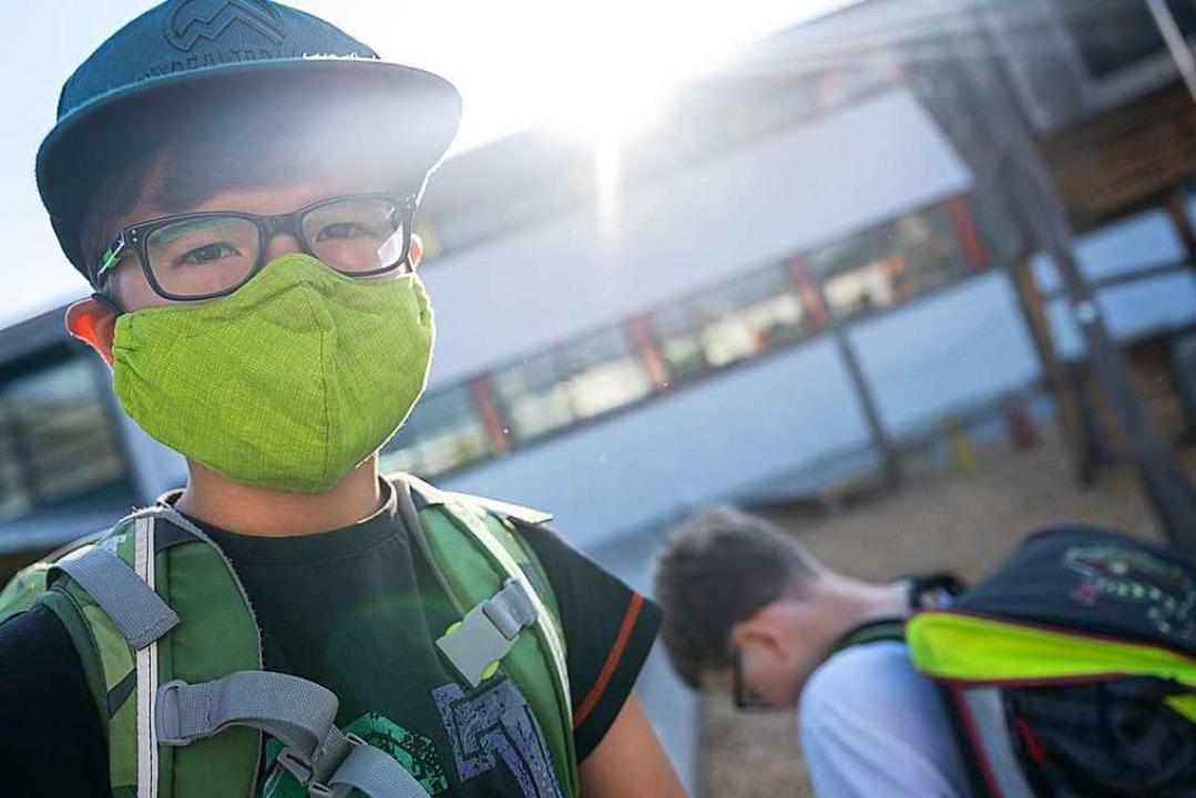 Baden-Württembergs Schüler sind seit M...der Regel aber nicht im Klassenzimmer.  | Foto: Sebastian Gollnow (dpa)