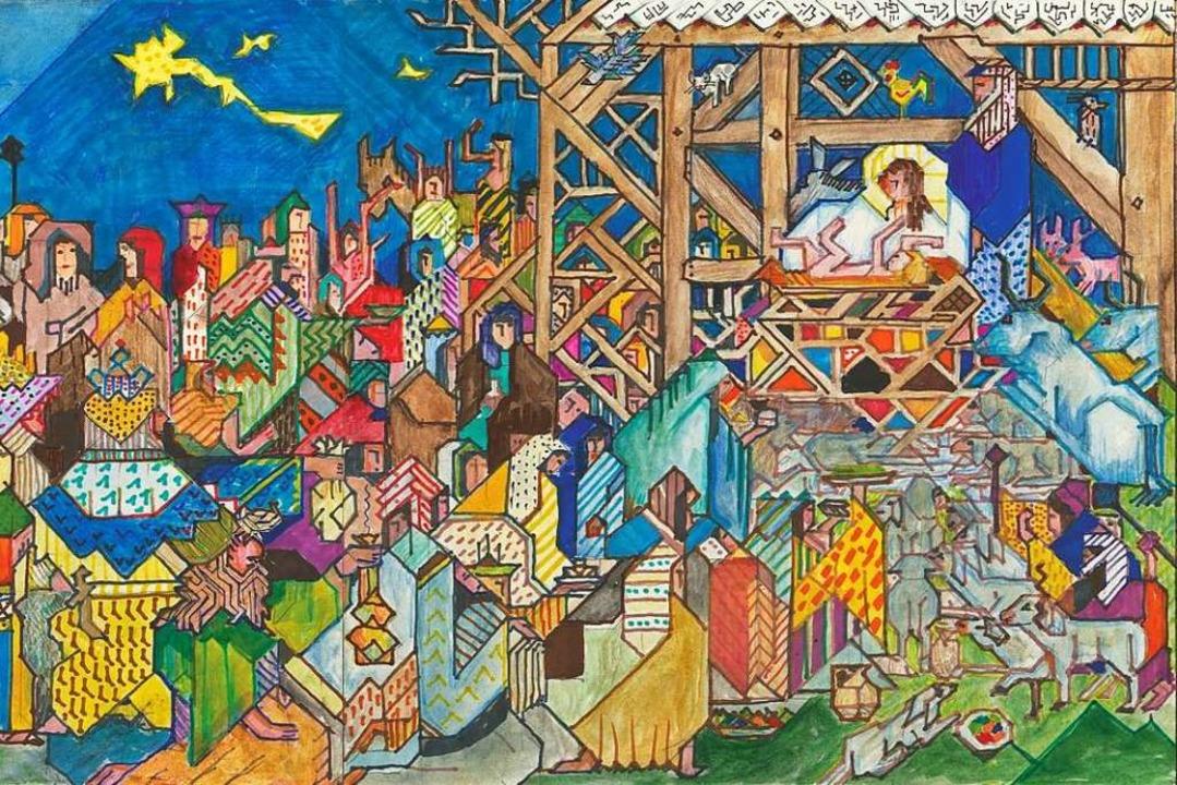 Wiedmann-Bibel: die Geburt Jesu  | Foto: Wiedmann Media