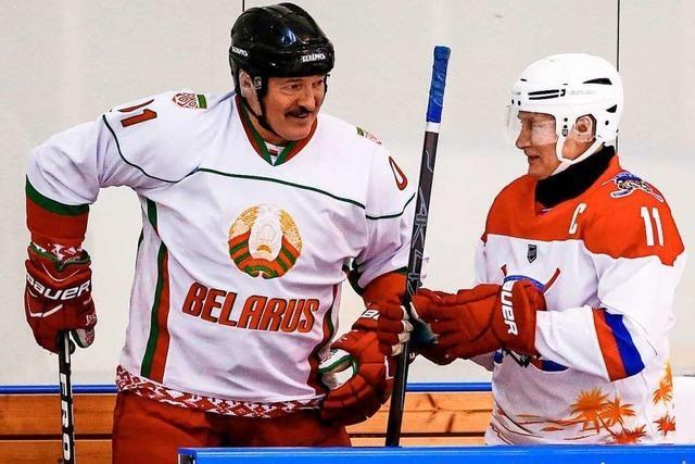 Putin ist im Umgang mit Belarus ratlos