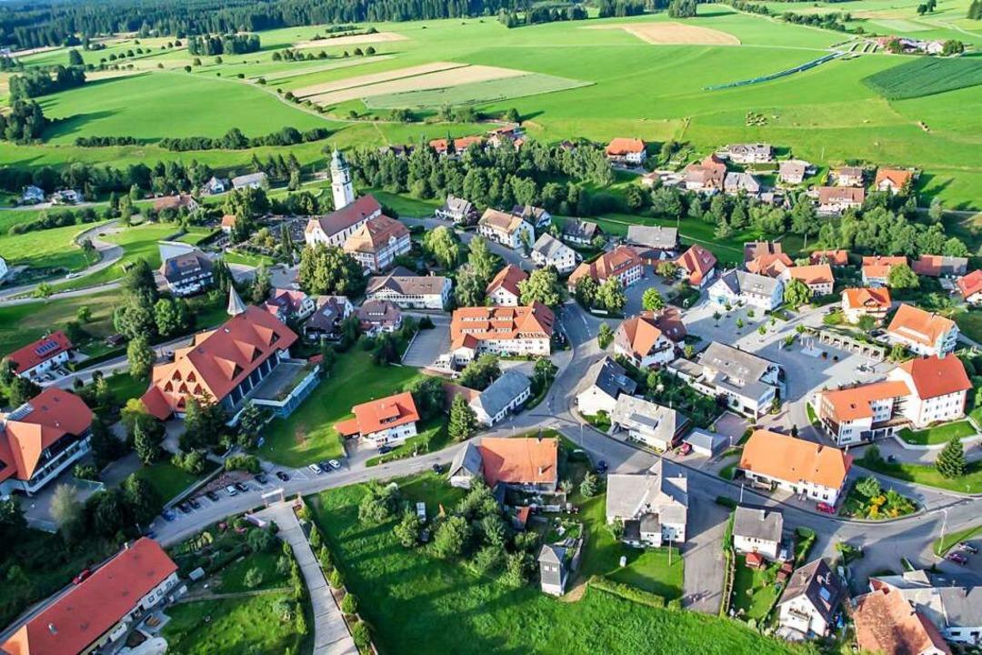 2235 Menschen leben in Grafenhausen  | Foto: Wilfried Dieckmann