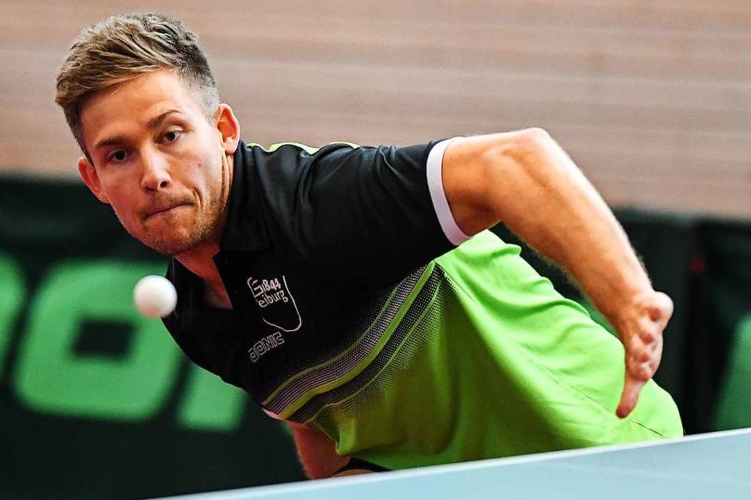 Simon Goetschi steuerte mit seinem Ein...tennisspieler in der Regionalliga bei.  | Foto: Patrick Seeger