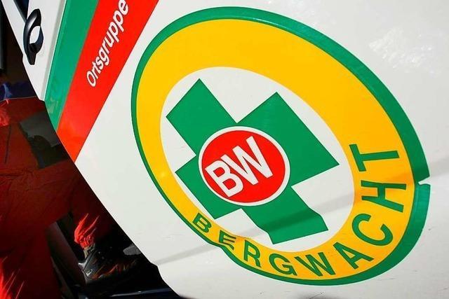 Bergwacht Waldkirch rettet gleich zweimal gestürzte Wanderer