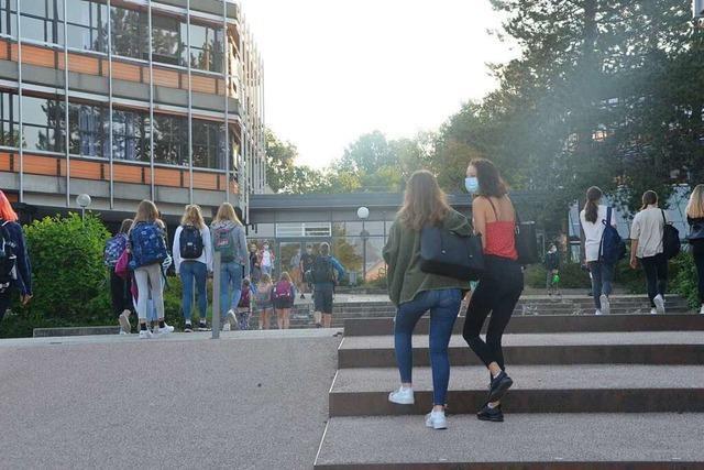 So lief der Schulstart unter Corona-Bedingungen am Gymnasium in Gundelfingen