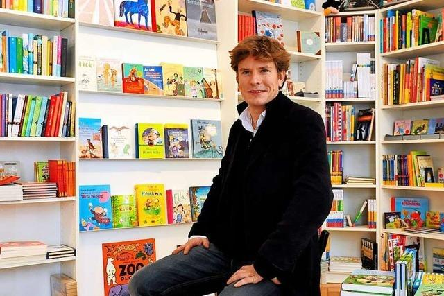 Buchhändler Konstantin Klingberg: