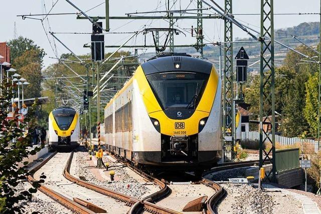 Anwohner der Kaiserstuhlbahn klagen über quietschende Züge