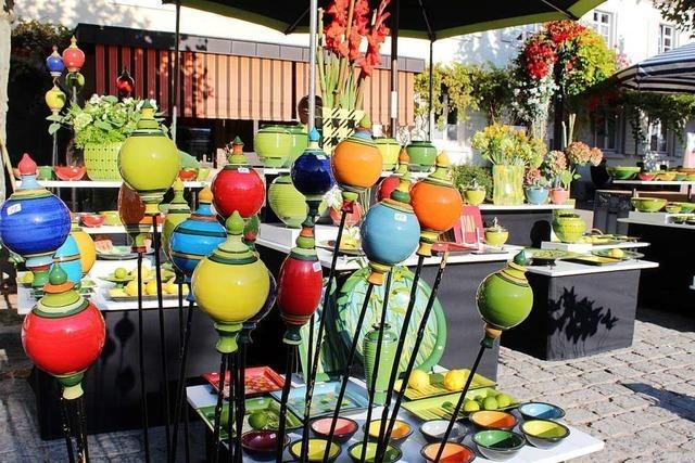 Kanderner Keramikmarkt findet im September nun doch statt