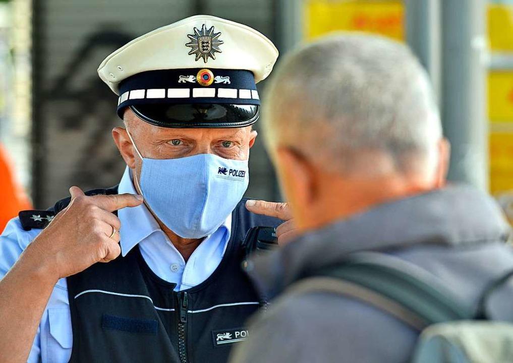 Die Polizei hat  in Südbaden erneut di... Nahverkehr kontrolliert (Archivbild).  | Foto: Michael Bamberger