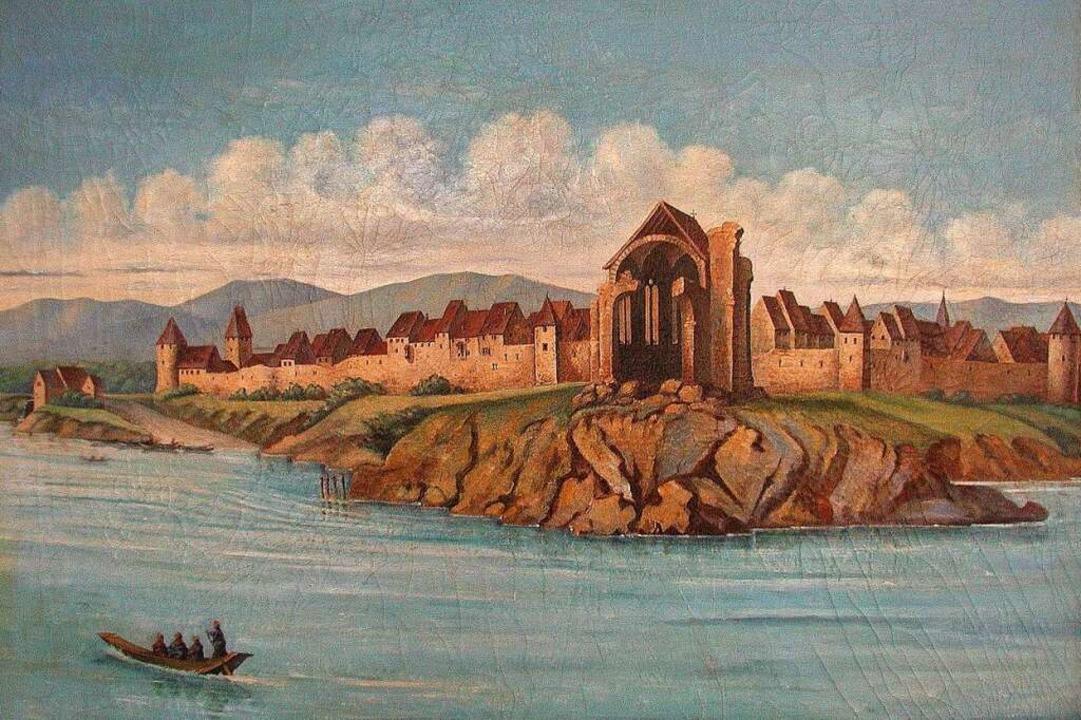 Noch 1908 inspirierte das Bild des vom...ses Gemälde aus dem Stadtmuseum zeigt.  | Foto: Dorothee Philipp
