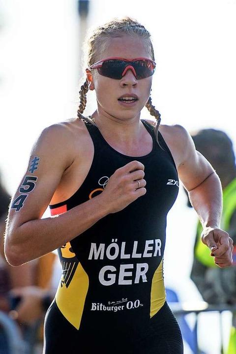 Ihren Einzellauf gewann Katharina Möller dank ihrer läuferischen Stärke.  | Foto: Jörg Schüler
