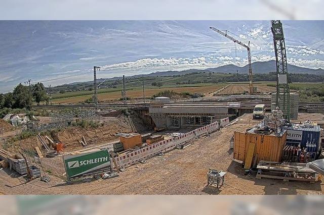 Was Bad Krozingen zum Bahnbau sagt