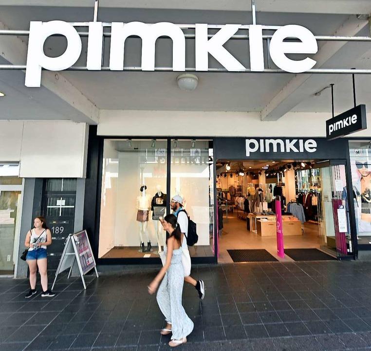 Pimkie betreibt eine Filiale in Freibu...ße. Ob sie erhalten bleibt, ist offen.  | Foto: Michael Bamberger