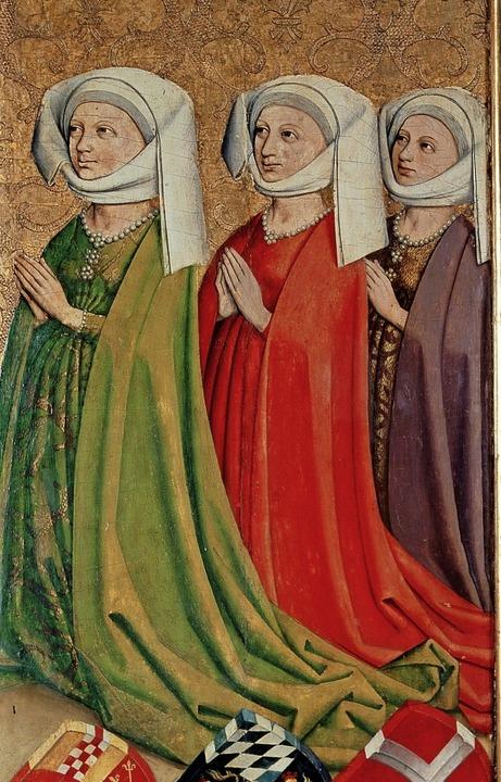 Die drei Frauen von Ulrich von Wüttemb...#8211; Margarethe von Savoyen (rechts)  | Foto: Landesmuseum Württemberg Stuttgart