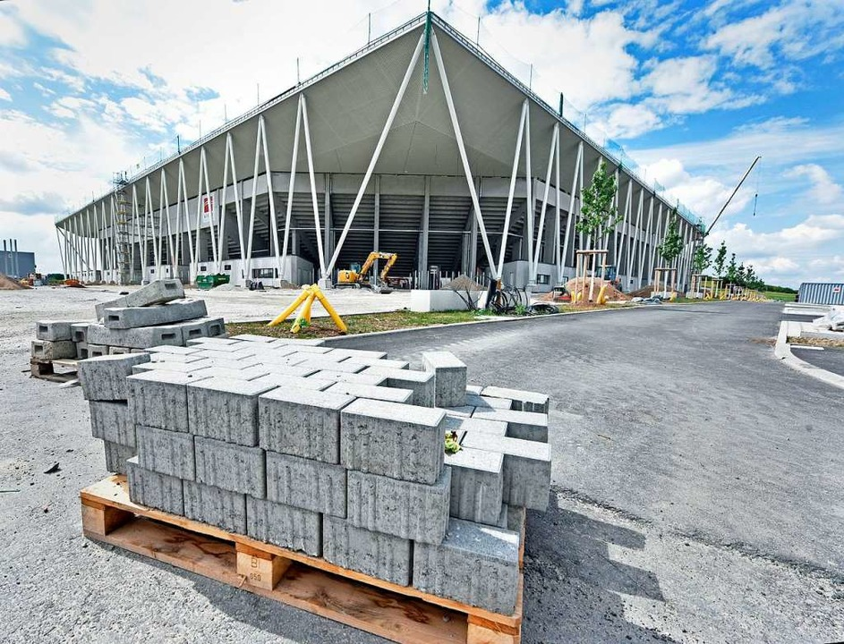 Fertig gebaut werden darf das neue SC-...ht das Gericht jedoch Einschränkungen.  | Foto: Michael Bamberger