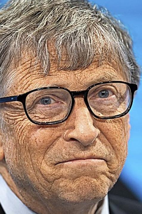 Bill Gates  | Foto: Gian Ehrenzeller (dpa)