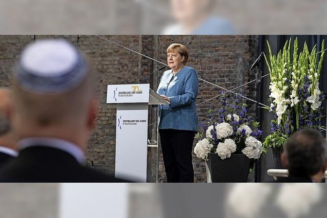 Merkel zeigt sich zutiefst beschämt
