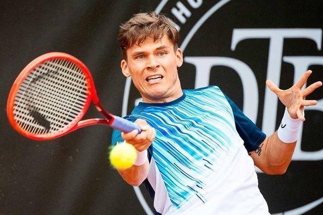 Ehemaliger Davis-Cup-Spieler gewinnt Tennisturnier in Grenzach