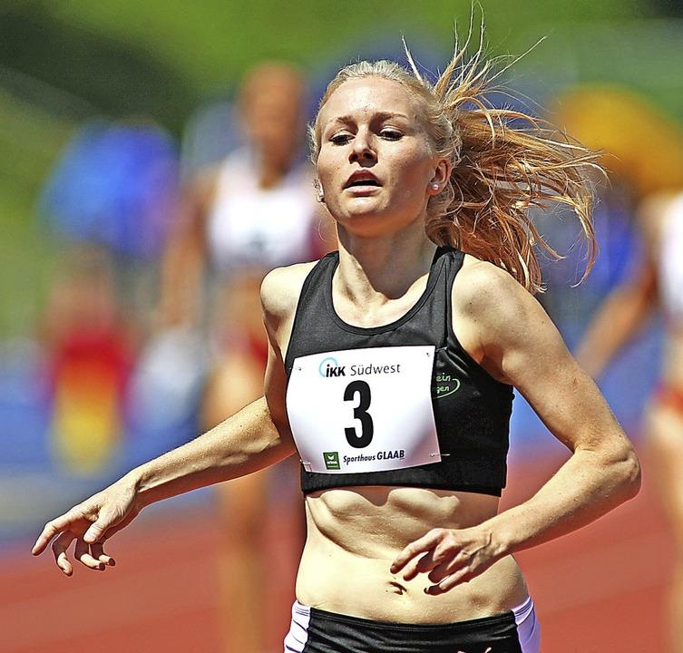 Länger unterwegs: Sophia Sommer nimmt 2021 die  800 Meter  ins Visier.  | Foto: Ralf Görlitz
