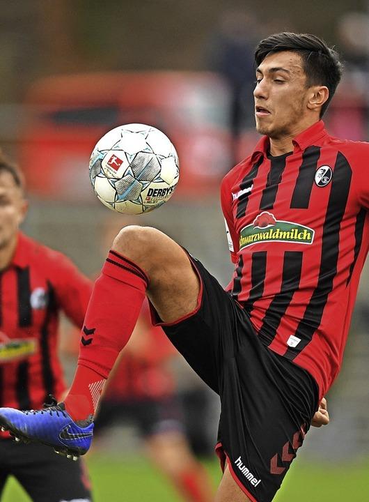 Für zwei Spiele gesperrt: Claudio Kamm...alldorf die Rote Karte gesehen hatte.   | Foto: Patrick Seeger