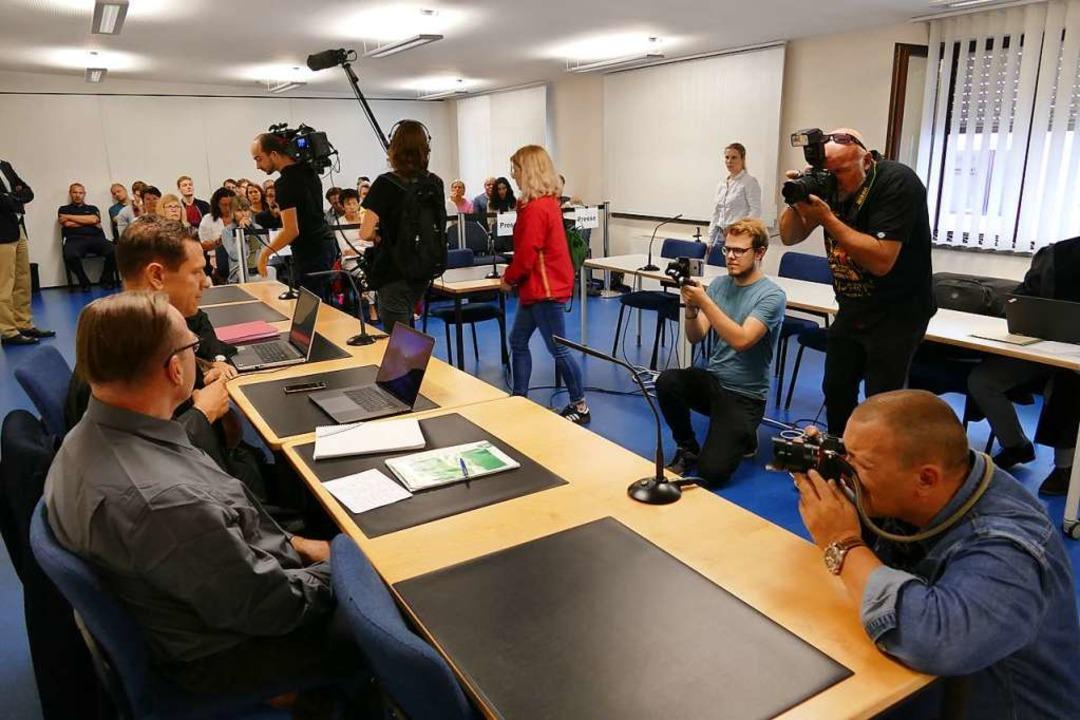 Der Prozess in Mannheim im September 2018  | Foto: Mark Alexander