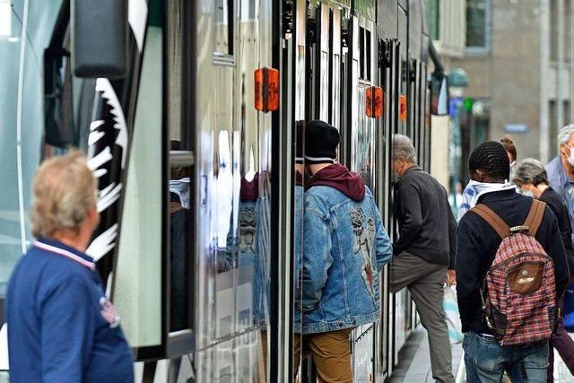 Im Freiburger Nahverkehr halten sich die meisten an die Maskenpflicht