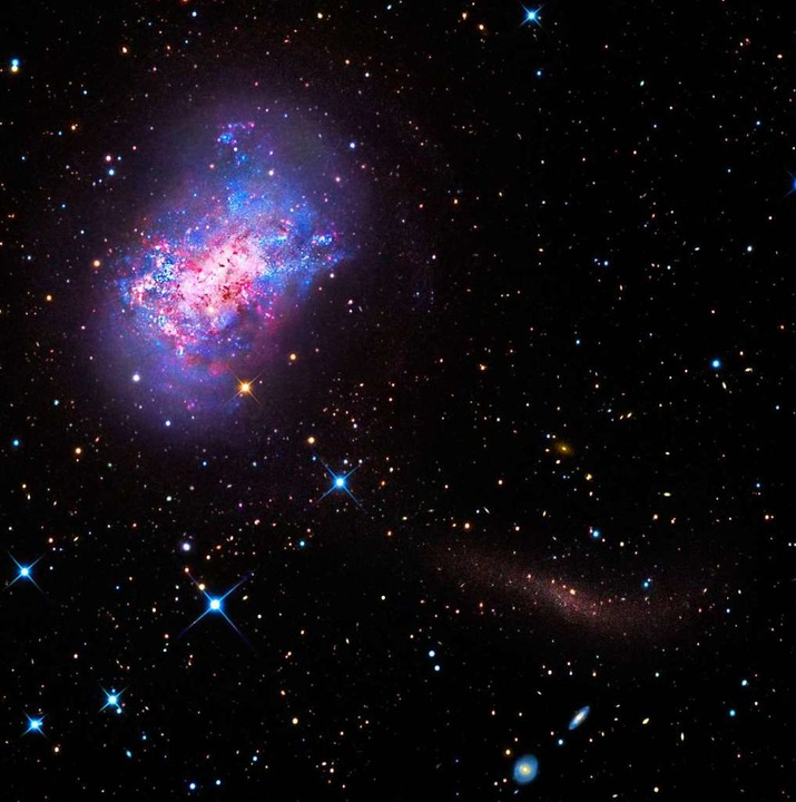 Eine Galaxie im Weltall  | Foto: GaBany, Martínez-Delgado