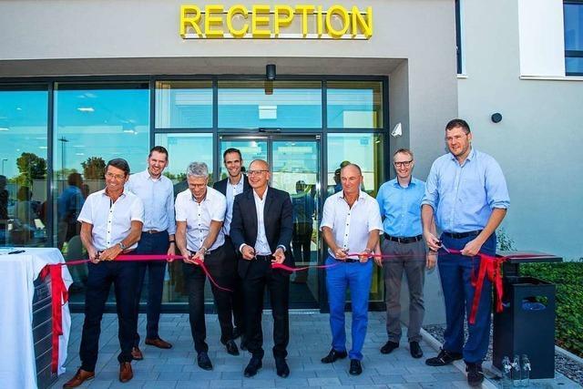 Das B&B-Hotel im Gewerbegebiet Dyn A 5 ist eröffnet