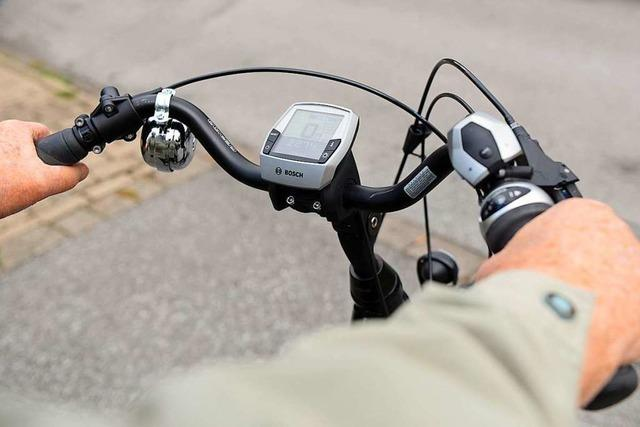65-Jähriger fährt in Lörrach betrunken E-Bike und stürzt mutmaßlich