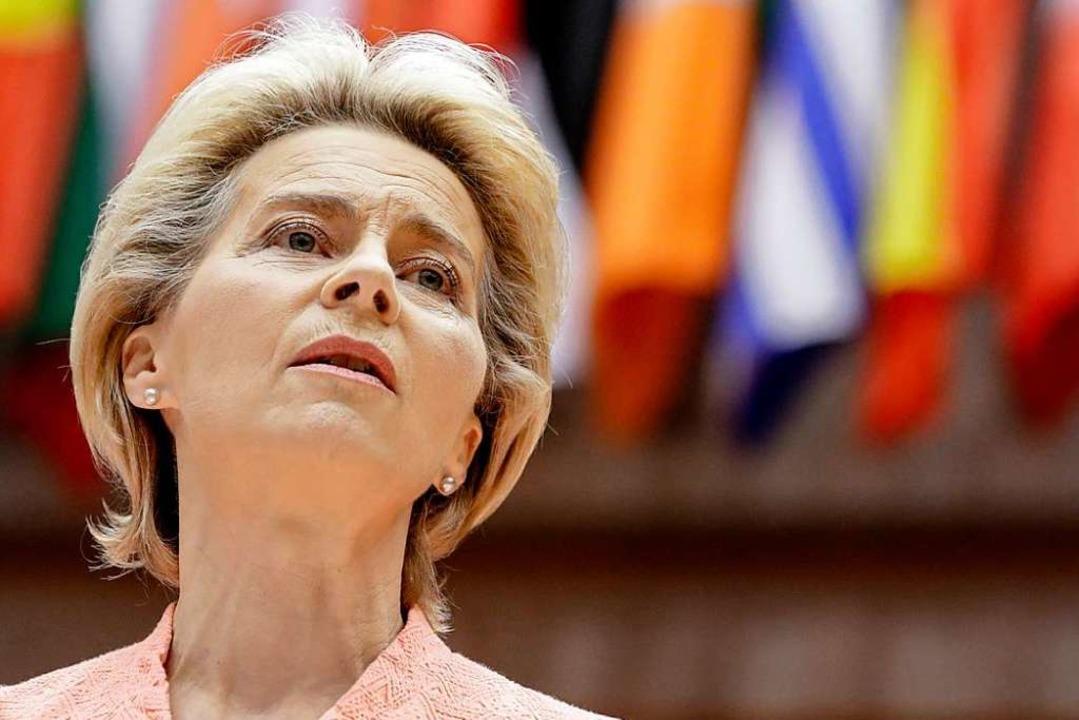 Ursula Von Der Leyen  | Foto: OLIVIER HOSLET (AFP)