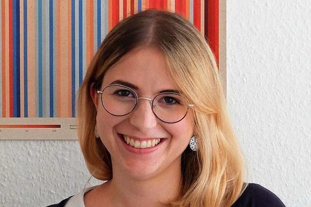 25-jährige Chantal Kopf will für die Freiburger Grünen in den Bundestag