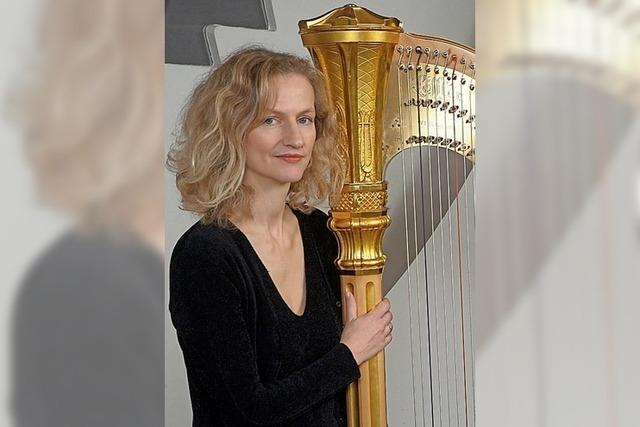 Siri Karoline Thornhill (Sopran) und Ursula Eisert (Harfe) gastieren im Bürger- und Kulturhaus Denzlingen