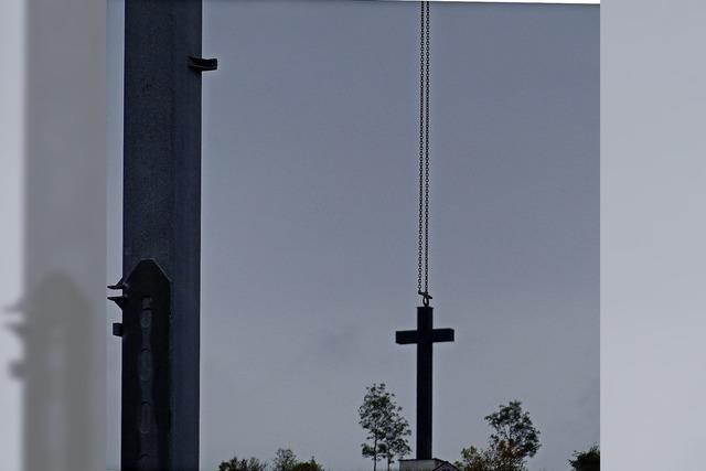 Kreuz am Haken