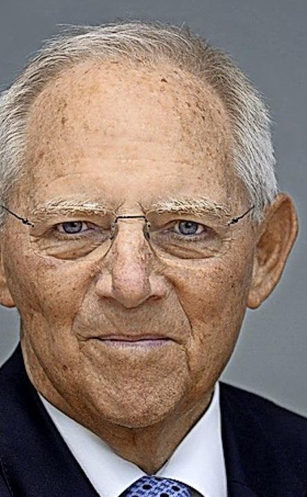 W. Schäuble  | Foto: Deutscher Bundestag/Achim Melde
