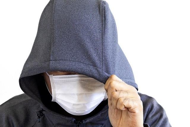 Corona-Maske bietet Kriminellen Schutz