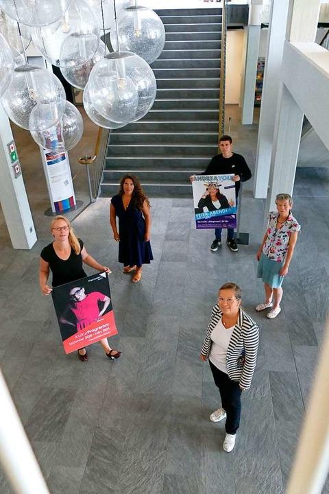 von links: Henrike Fuder, Kristina Put...r, Martina Schilling und Diana Stöcker  | Foto: Verena Pichler