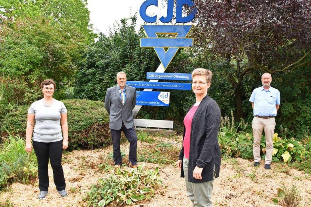 Das CJD hilft jungen Menschen und jung...u, Silvia Müller und  Ulrich Purschke.  | Foto: Barbara Puppe
