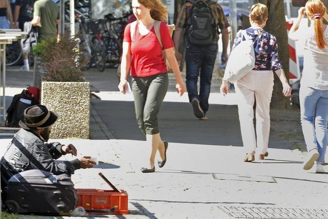 Organisierte Bettlergruppe sorgt im Freiburger Zentrum für Unmut