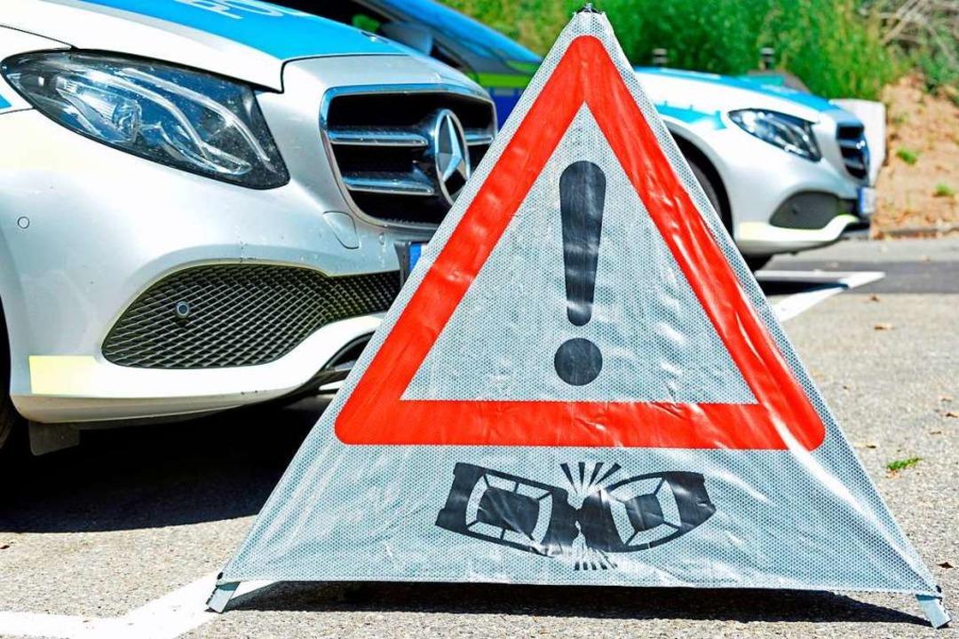 Zwei Fahrzeuge kollidierten am Mittwoch bei Hecklingen.  | Foto: Michael Bamberger