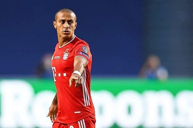 Mittelfeldspieler Thiago wechselt vom FC Bayern zum FC Liverpool