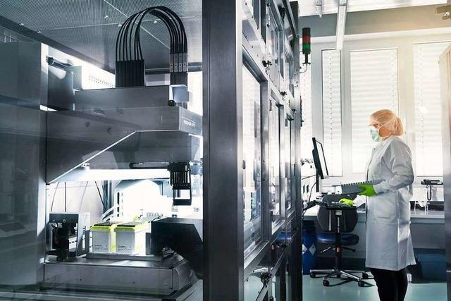 Biontech kauft von Novartis Werk für Impfstoffproduktion