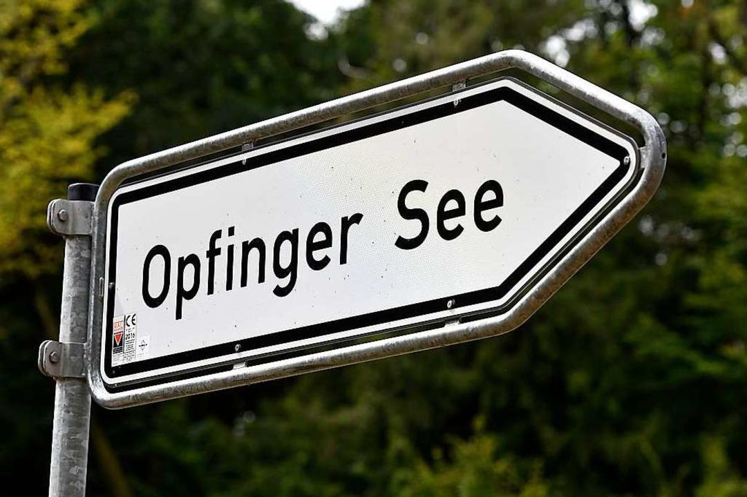 Ein Mann soll am Opfinger See eine 32-Jährige bedroht haben (Archivbild).  | Foto: Thomas Kunz